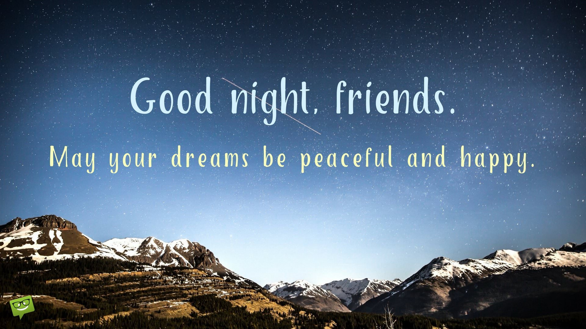 Top #50 Good Night Messages, Wishes, Quotes for Friends (Best ...